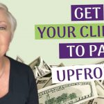 Female entrepreneurs - get paid upfront & never chase a client for payment again!