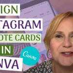 Canva Tutorial How To Create Quote Cards For Instagram